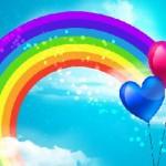 聖なる虹の光